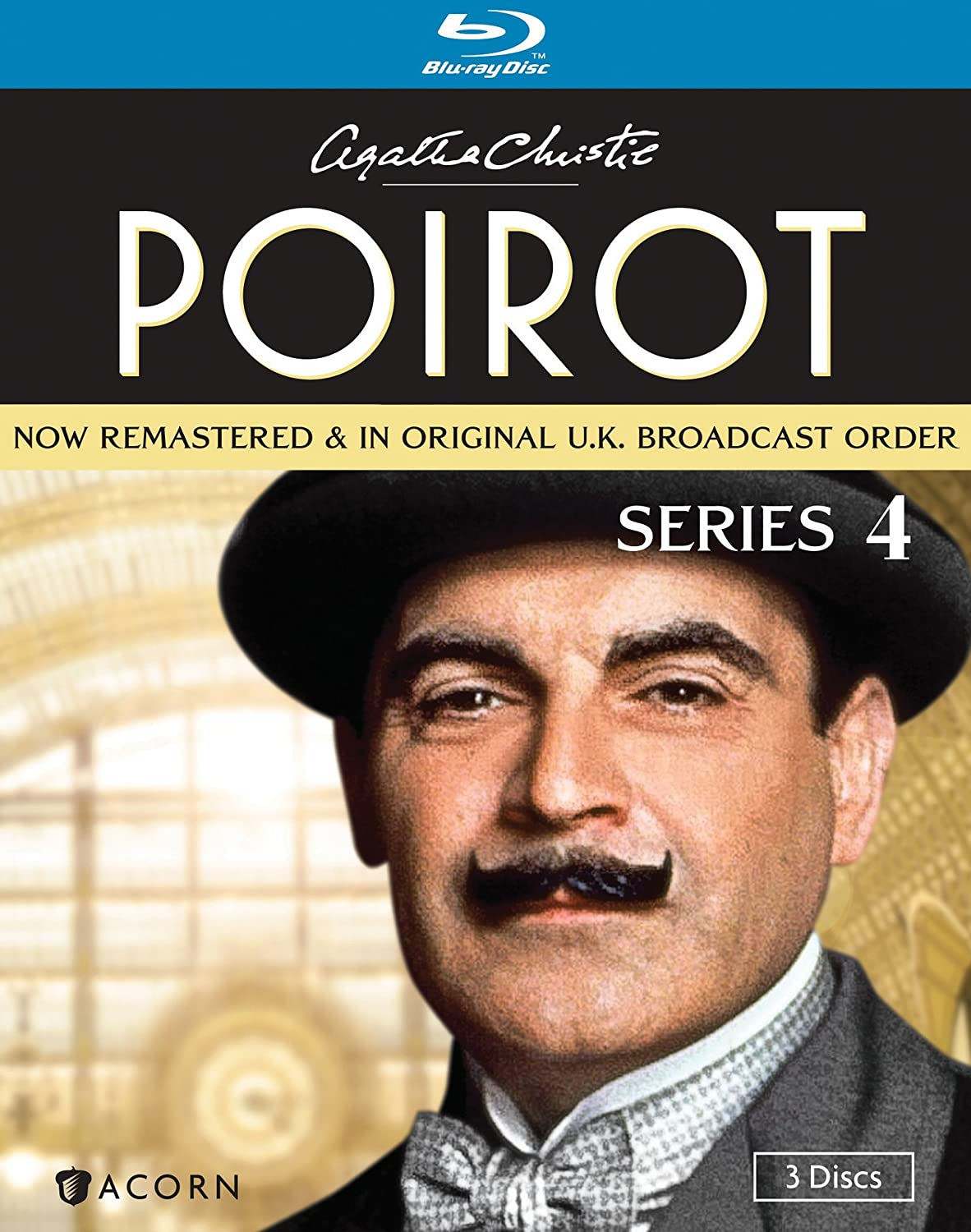 Agatha Christie S Poirot Series 4 Blu Ray Agatha Christie S Poirot Movies Tv