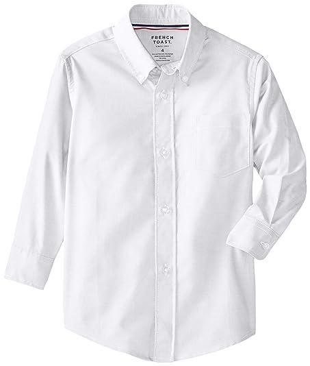 Amazon.com: French Toast Boys' Long Sleeve Oxford Dress Shirt ...