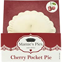 Mamie's 12 Pack Melt-in-Your-Mouth Single Serving Cherry Pies, Individually Packaged 4.5oz Pocket Pies, Preservative…