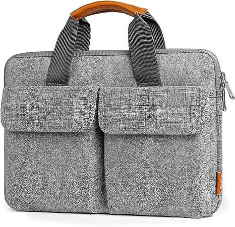 Aktentasche aus Filz Tragetasche mit Griff Handtasche