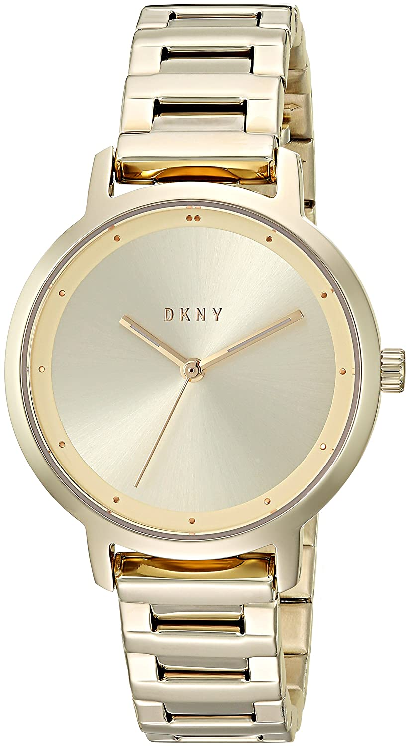 Amazon.com: DKNY Womens The The Modernist Analog-Quartz Watch with Stainless-Steel Strap, Gold, 14 (Model: NY2636: Watches