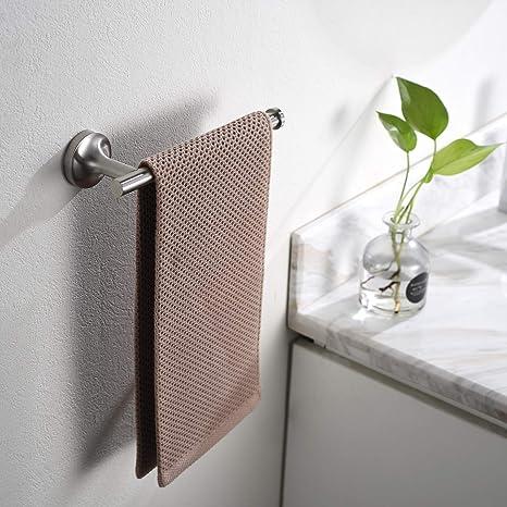 Modern Design Brush Bronze New Contemporary Bathroom Bath Hand Towel Ring
