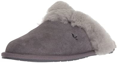 0157c26a456 Koolaburra by UGG Women's Milo Scuff Slipper, Rabbit, 8 M US