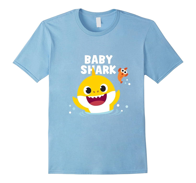4679e2244 Pinkfong Baby Shark t-shirt with text-RT – Rateeshirt