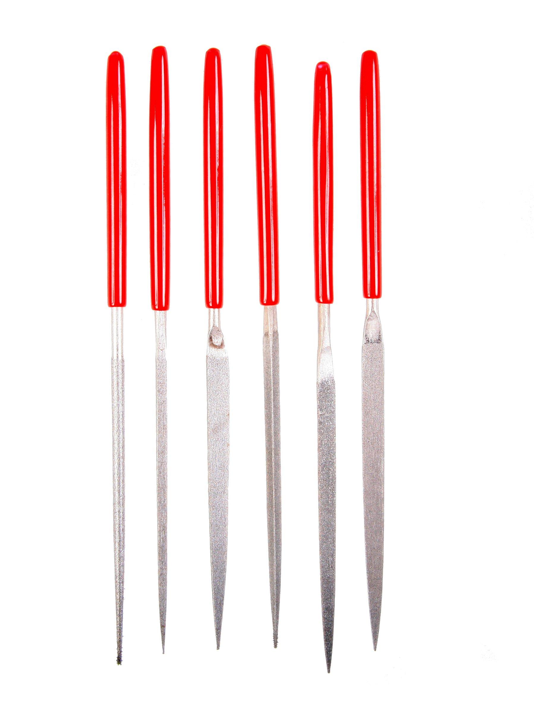 EZE-LAP 600F Fine Grit Diamond Needle File Set