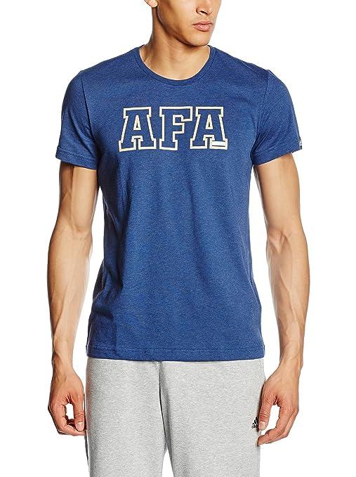 adidas Camiseta Manga Corta AFA Gr tee Azul Marino XS