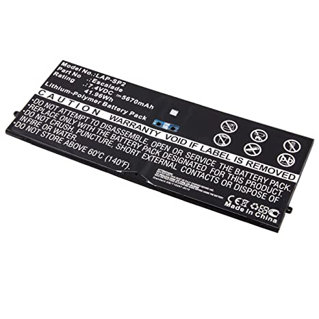 Review Tablet Replacament Battery for