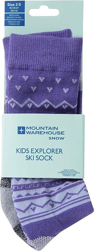 Mountain Warehouse Technical Kids Ski Socks Warm Winter Socks