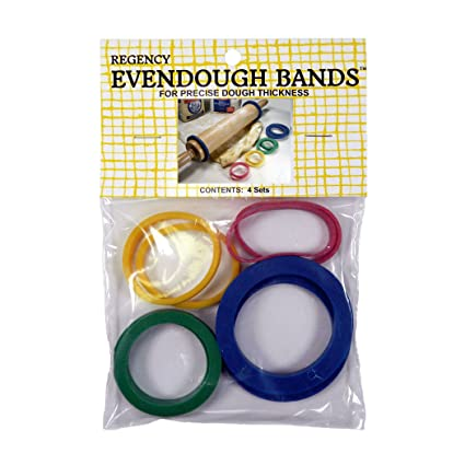 40162a2cb Amazon.com: REGENCY EVENDOUGH BANDS ROLLING PIN RINGS: Kitchen & Dining