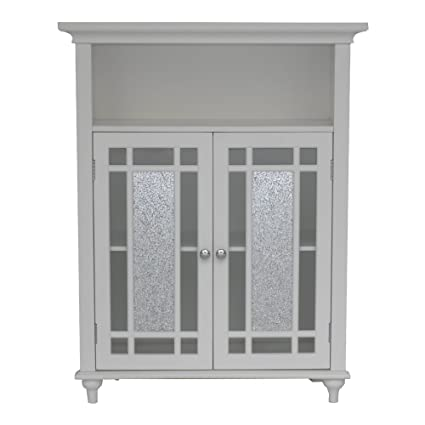 Exceptionnel Two Door Bathroom Storage Floor Cabinet   Home Wooden Cabinet Floor Storage  Furniture   Bathroom Laundry