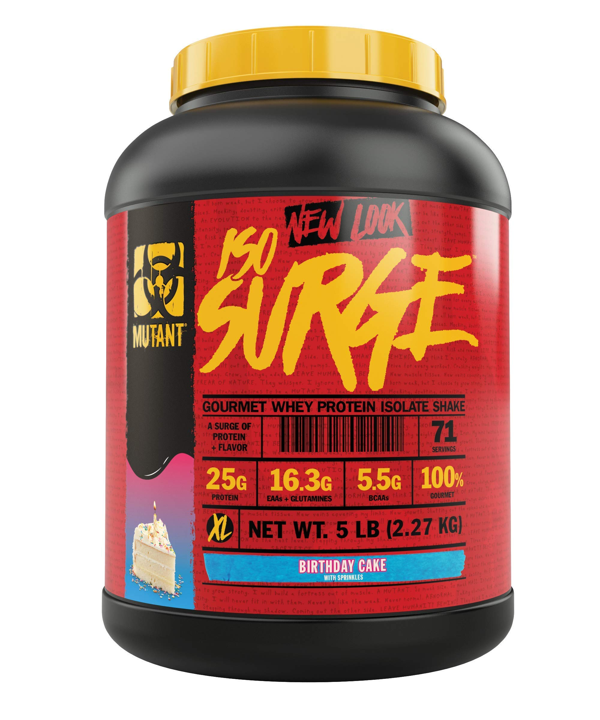 Amazon Mutant ISO Surge Whey Protein Powder Acts Fast To Help