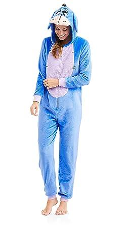 b36d68242f ... Disney Womens Eeyore One Piece Pajama Set Union Suit Sleeper (2 X 18W- 20W ...