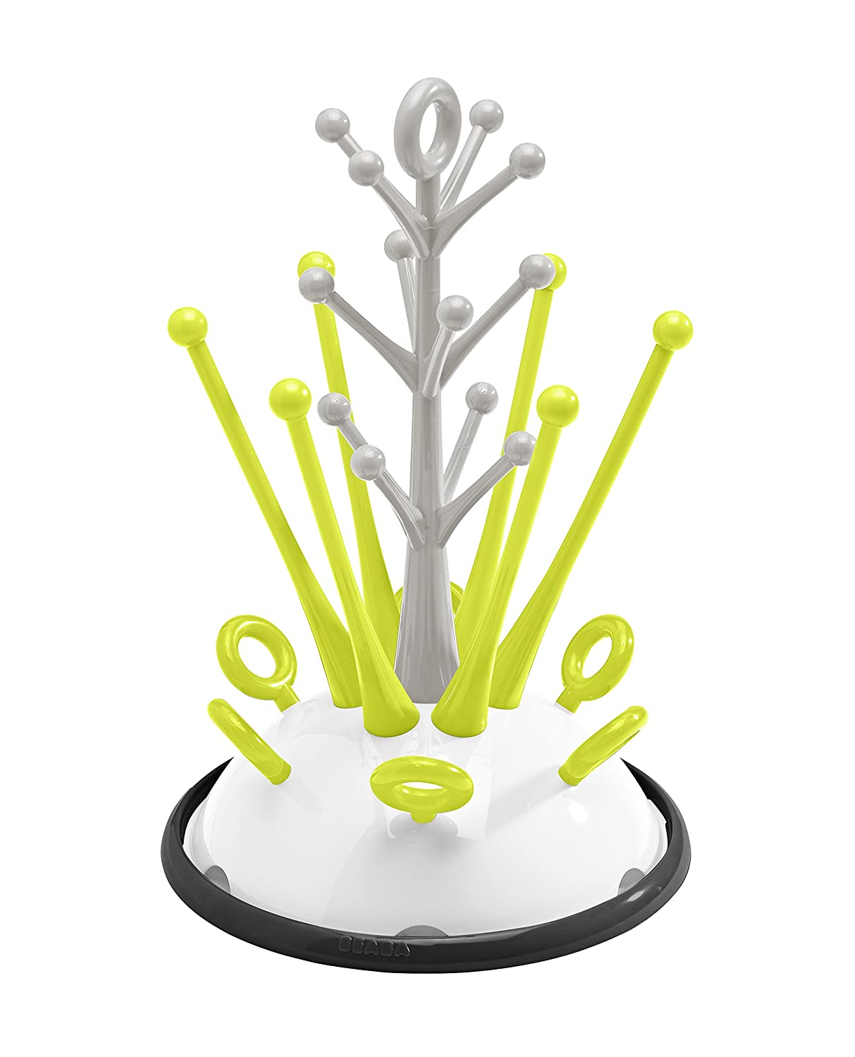 BEABA Bottle Draining Rack and Accessories (Neon) 911556