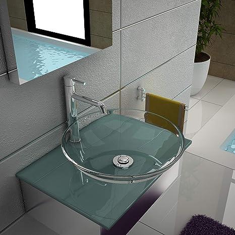 Muebles Bano Lavabo Cristal.Cristal Lavado Carcasa De Muebles De Bano De Cristal Diseno
