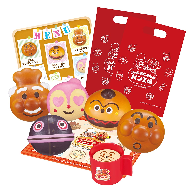 Anpanman irasshaimase! Uncle jam fresh bread factory Nakayoshi pantsuit 2 Sega Toys KTEC-cYIST-ds-1655439