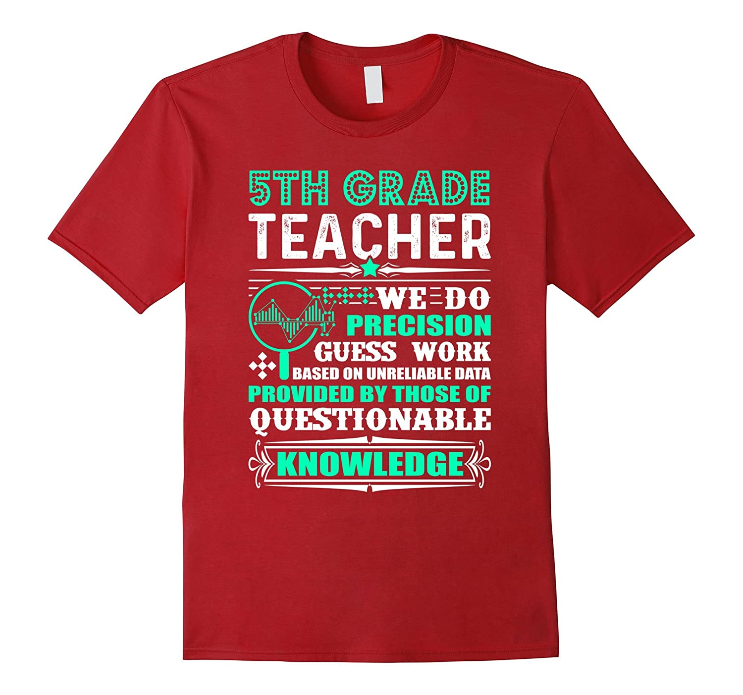 5Th Grade Teacher Shirt For Women And Men
