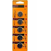 Kodak CR 2032 Lithium Coin Battery- Pack of 5