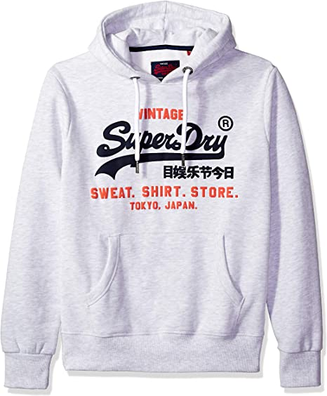 Superdry Men's Sweat Shirt Shop Duo Hoodie Sweatshirt