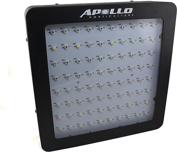 Apollo Horticulture Full Spectrum LED Grow Light pour Plantes d'intérieur Croissance 400 - Watt