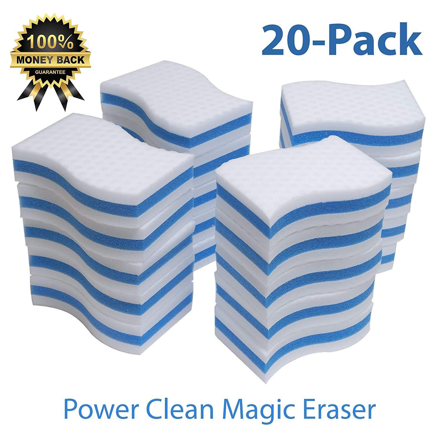 Amazon STK 20 Pack Extra Thick Power Clean Magic Eraser