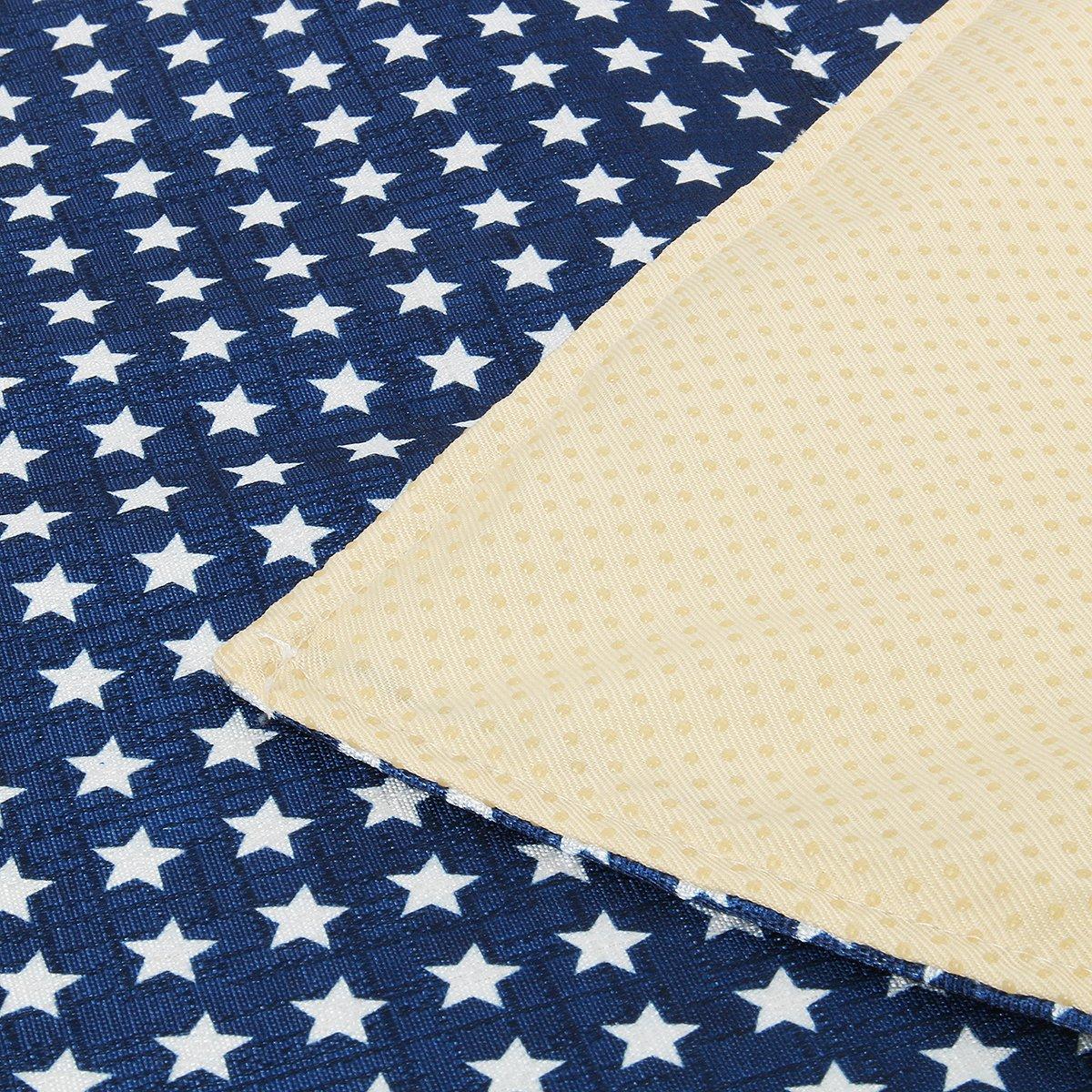 FunHoo Baby Splash Mat Under Highchair Anti Slip Feeding Floor Mat Protector 110 x 110 cm Grey