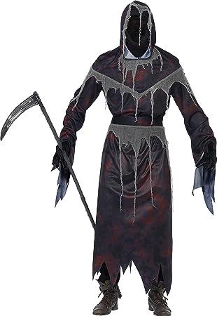 Smiffys - Disfraz para adulto con diseño Angel de la muerte ...