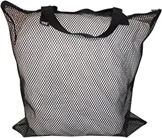 product image for Mesh Tote with Zipper Closure,mesh Bag for Beach,Gym,Dive Gear Made in USA.