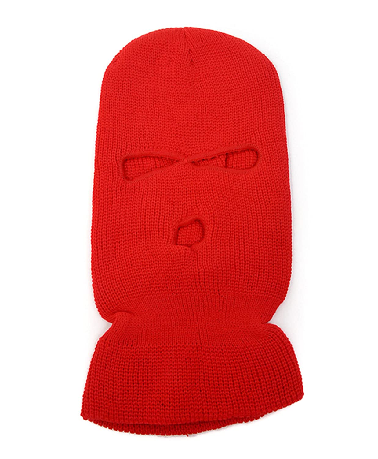 Unisex Knit Face-Cap With...