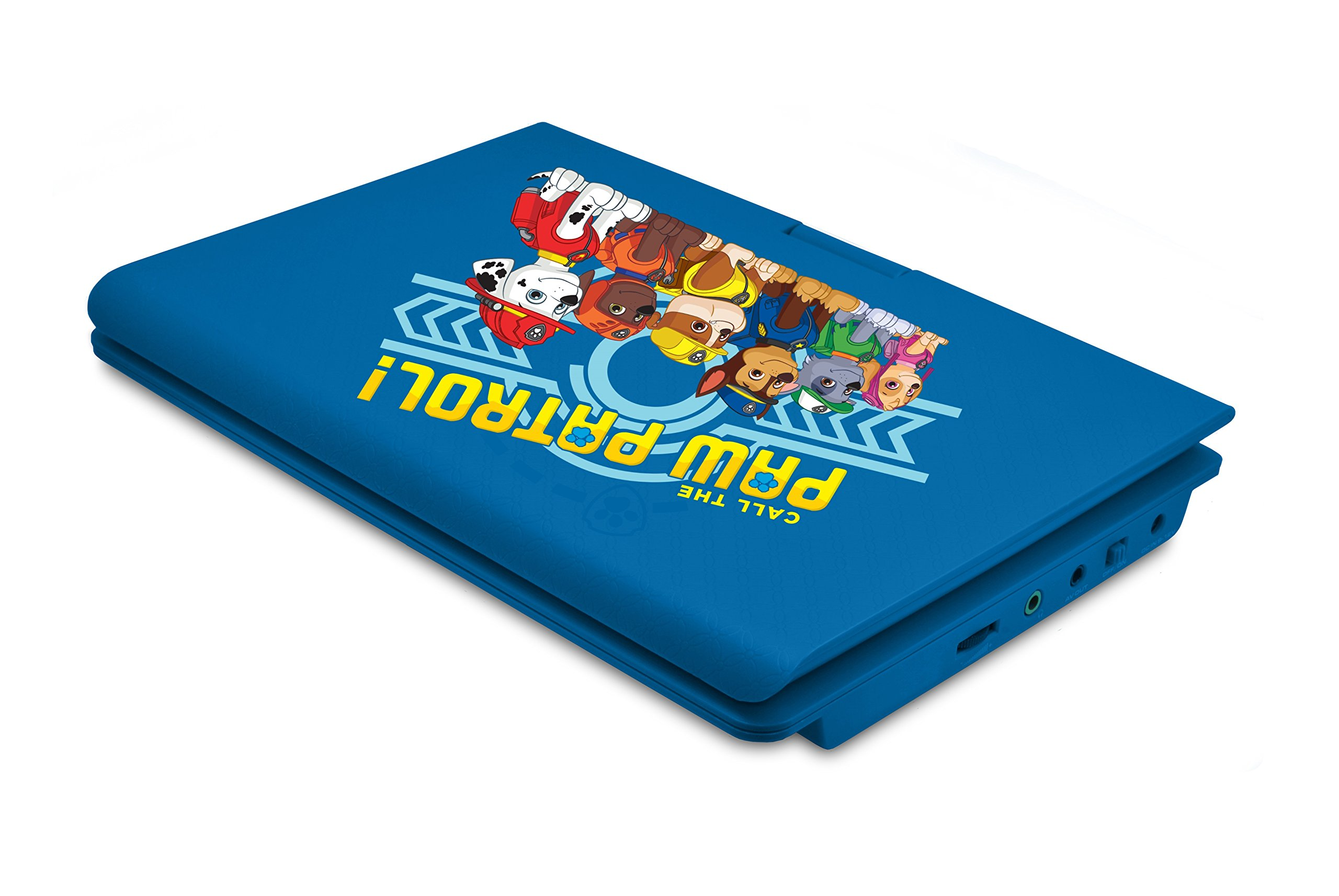 Ematic NPW7221PW Nickelodeons Paw Patrol Theme Portable DVD Player with 9-Inch Swivel Screen, Travel Bag and Headphones, Blue by Ematic (Image #5)