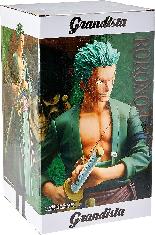 One Piece Grandista-THE GRANDLINE MEN-Roronoa Zoro PVC Figure New Loose 28cm