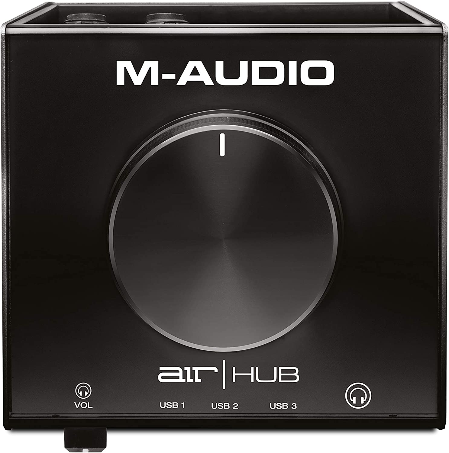 M-Audio AIR HUB - USB Audio Interface with 3-Port Hub and Recording Software from Pro-Tools & Ableton Live, Plus Studio-Grade FX & Instruments