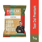 Popular Essentials Premium Fatka Toor Dal Pouch, 1 kg