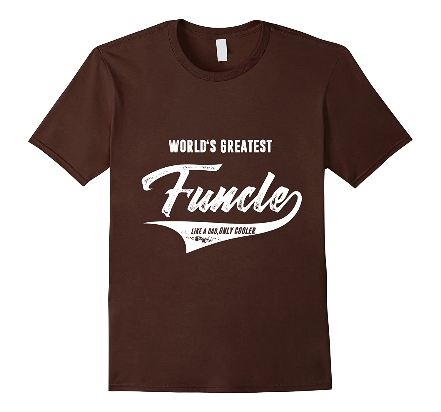 Mens World Greatest Funcle Fun Uncle t-shirt-T-Shirt
