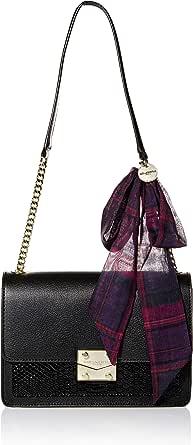 Karl Lagerfeld Paris womens Corinne Snake Shoulder Bag