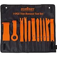 HORUSDY Auto Trim Removal Tool Kit, Nylon Fiber,Window/Molding/Door/Panel/Upholstery/Fastener Clip Removal Tool Kit