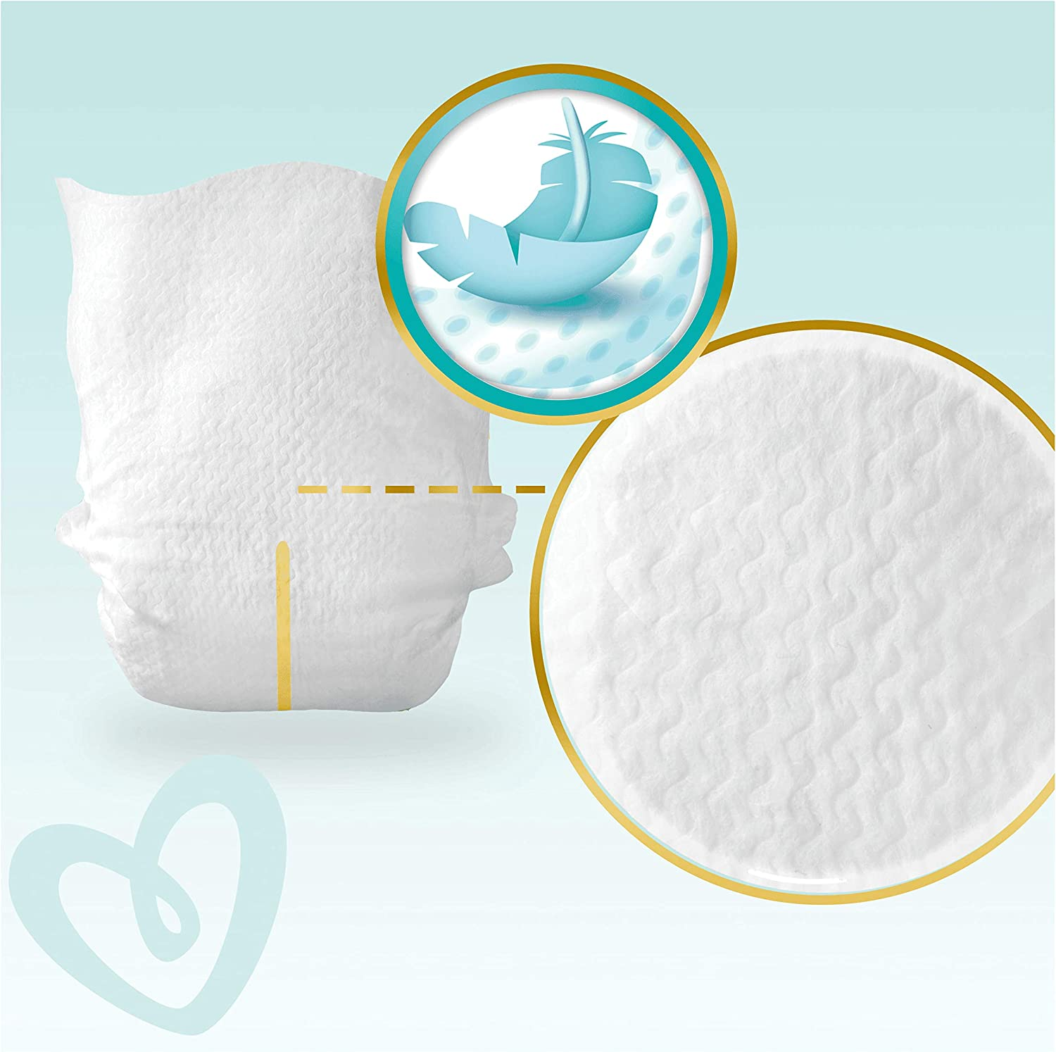 Pampers Premium Protection Size 6 69 Nappies 13kg 2,477 kg