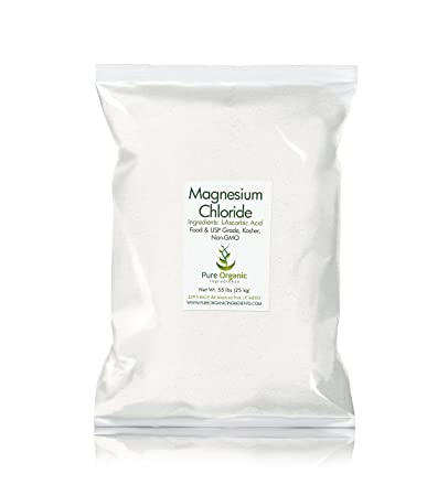 Magnesium Chloride (55 lb.) by Pure Organic Ingredients, Eco-Friendly Packaging
