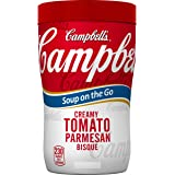 Campbell's Soup on the Go, Creamy Tomato Parmesan Bisque, 10.75 Ounce (Pack of 8)