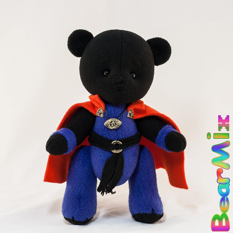 Dr. Strange bear - marvel superhero movie comic plush toy avengers Stephen Vincent
