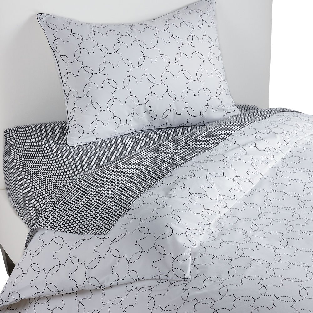 Ethan Allen | Disney Mickey Mouse Dash Duvet Cover, Mickey's Ears, Twin by Ethan Allen