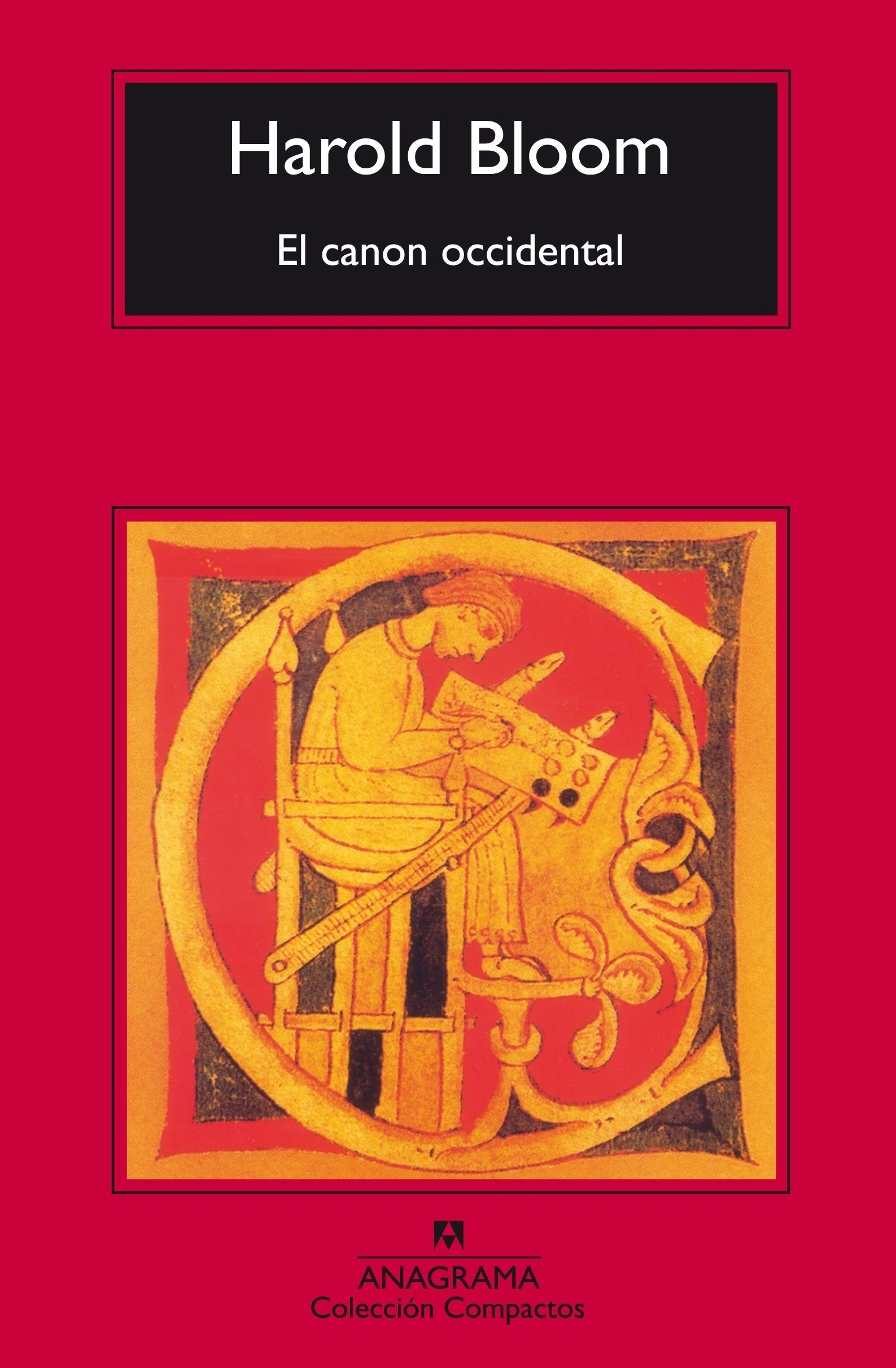 harold bloom el canon occidental