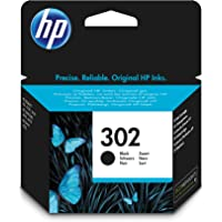 HP F6U66AE 302 Original Ink Cartridge Black, Pack of 1