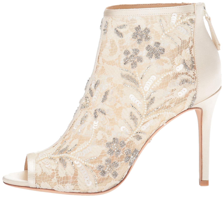 Badgley Boot Mischka Women's Moyra Ankle Boot Badgley B073C17NPY 9 B(M) US|Ivory 4dadf2