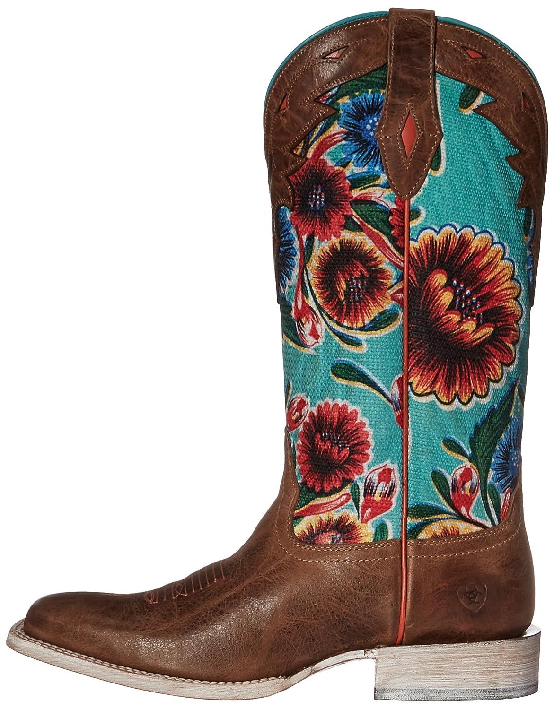 Ariat Women's Circuit Champion Western Cowboy Boot B01L853AMU 7 B(M) US|Bitter the Dust Brown