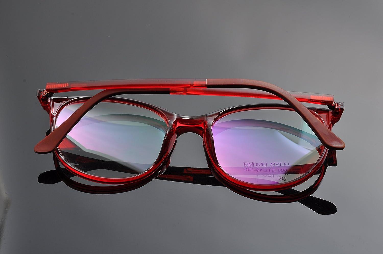 DEDING Retro Round Clear Lens Eyeglasses
