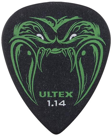 Dunlop Lata de 6 uñas para tocar guitarra, modelo Hetfield Black Fang, PH112T73