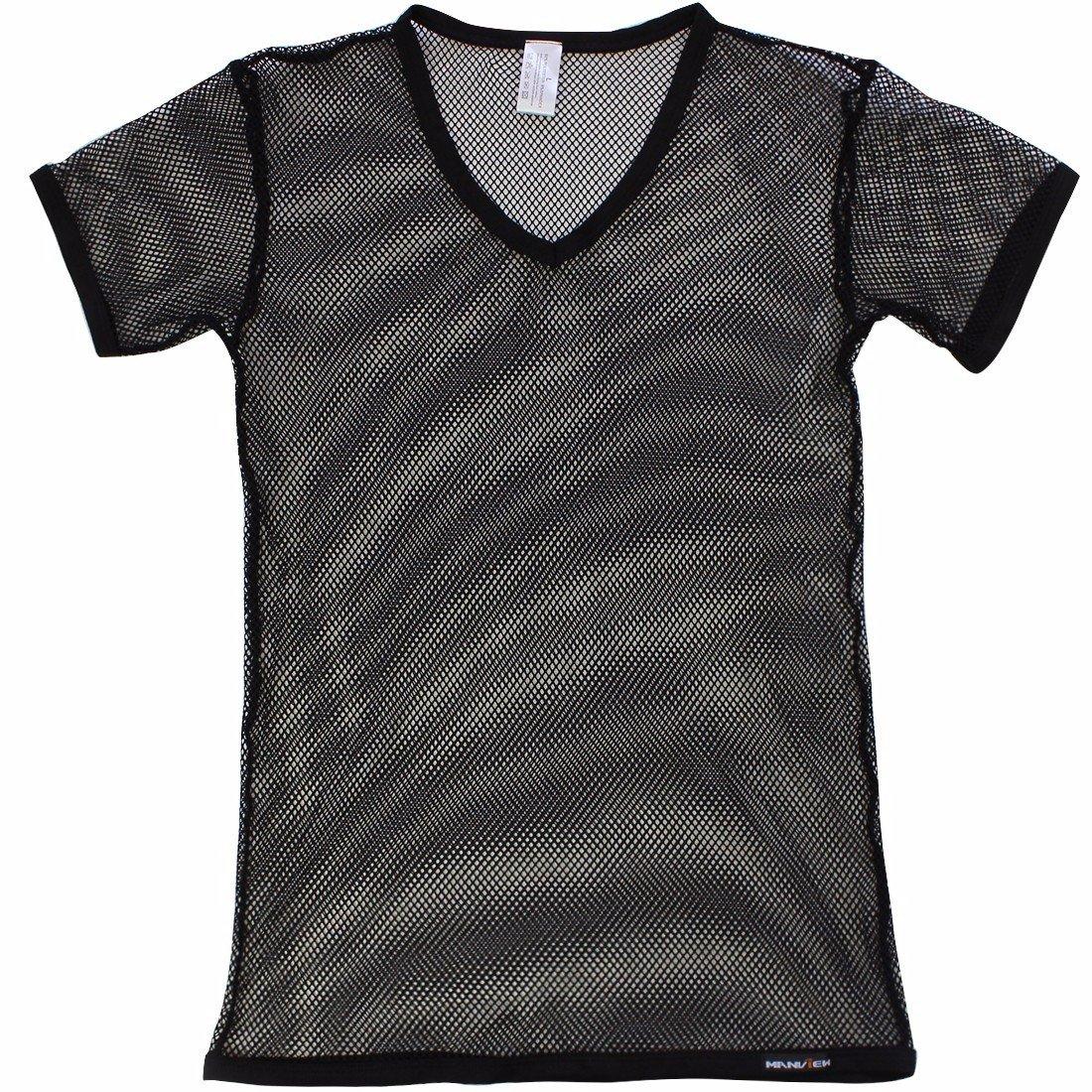982f7ac6be6b25 iEFiEL Men Fashion Sexy Mesh See Through T-Shirt Gym Training Workout Tank  Top Vest Shirt Clubwear at Amazon Men s Clothing store