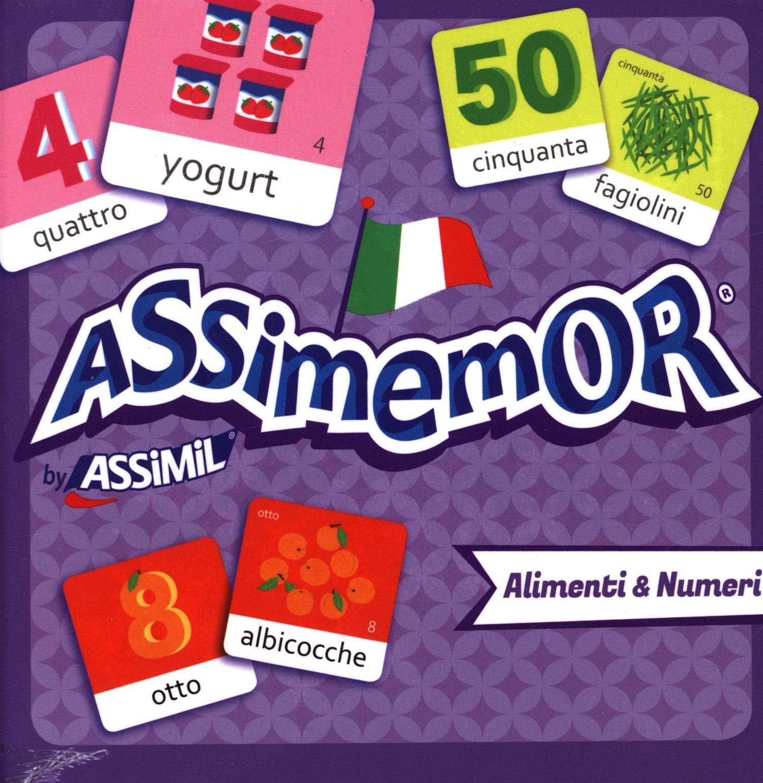 Assimemor Alimenti & Numeri Cartonné – 22 septembre 2016 Collectif Assimil 2700590430 Età: a partire dai 5 anni