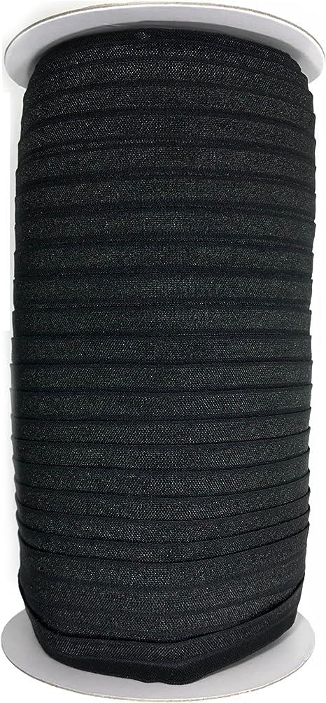 Hair Ties Head bands FOLDOVER ELASTIC  WHITE 5//8 inch Foldover Elastic 10 yds