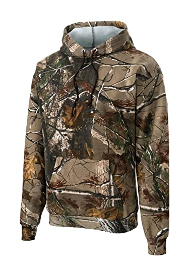 b34075f7d86a6 Russell Outdoors Mens Hoodie Realtree AP Camo Hunting Sweatshirt at Amazon  Men's Clothing store:
